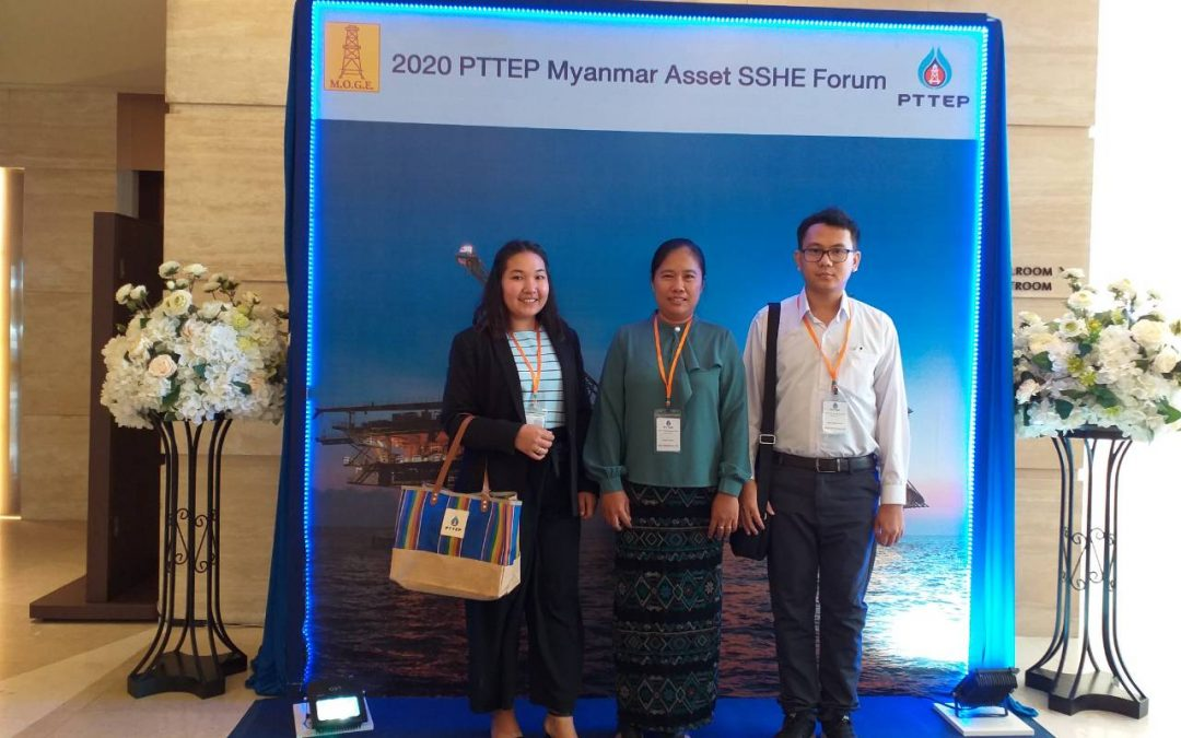 2020 PTTEP Myanmar Asset SSHE Forum