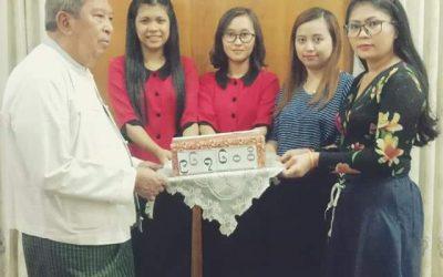 Donation at 'Hnin Si Kone' Nursing Home
